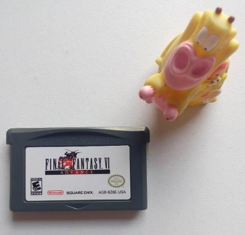 Final Fantasy Vi 6 Original Game Boy Advance Gba