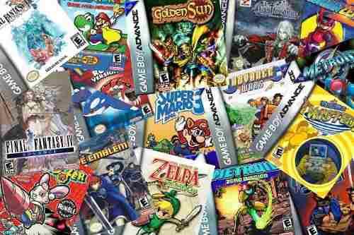 Game Boy / Advance/color Colección Completa Todos Los