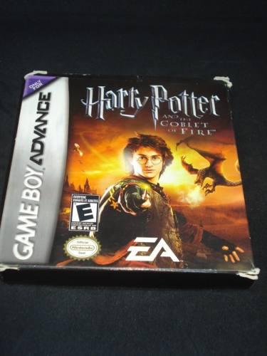 Harry Potter And The Goblet Of Fire Game Boy Con Caja Manual