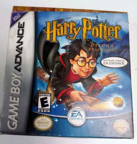 Harry Potter Piedra Filosofal Game Boy Advance Gba Retromex