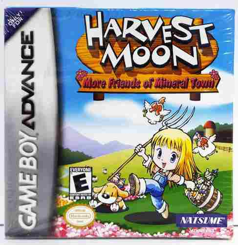 Harvest Moon Mineral Town Game Boy Advance Gba Retromex Tcvg