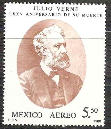 Julio Verne Escritor De Ciencia Ficción Sc C634 Mnh