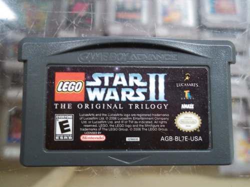 Lego Star Wars 2 The Original Trilogy Game Boy Advance Gba