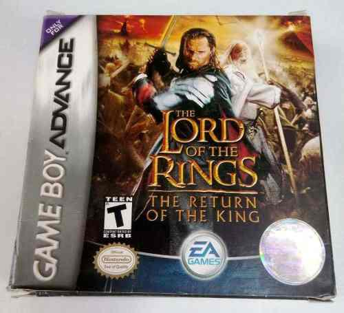 Lord Of The Rings Return King Game Boy Advance Gba Retromex