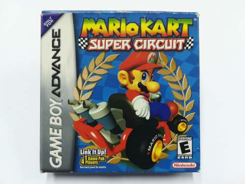 Mario Kart Super Cicuit Game Boy Advance - Rka