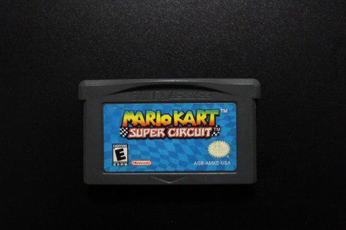 Mario Kart Super Circuit Gba Game Boy Advance Original