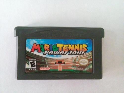 Mario Tennis Power Tour Game Boy Advance Original Gba