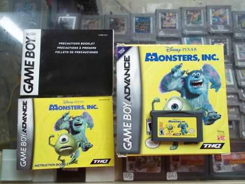 Monster Inc Game Boy Advance Nintendo Gba