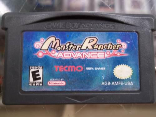 Monster Rancher Advance Game Boy Advance Nintendo Gba