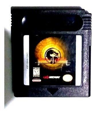 Mortal Kombat 4 Game Boy Color Gbc Advance Original Mk4