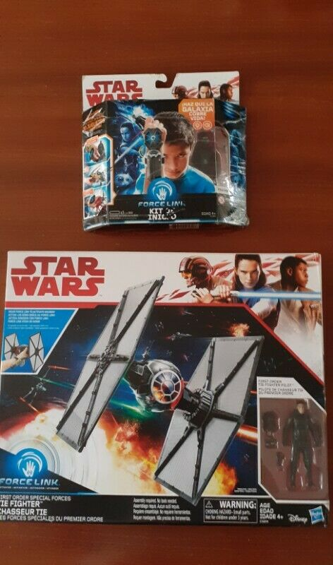 NAVE STAR WARS Y FORCE LINK $900