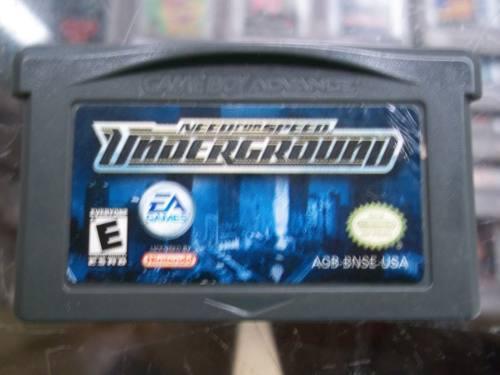 Need For Speed Underground Game Boy Advance Nintendo Gba