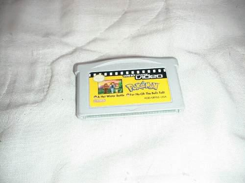 Pelicula De Pokemon Nintendo Game Boy Advance Sp, Ds Lite Mi