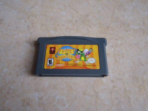 Planet Monsters Nintendo Gameboy Advance Gba +++