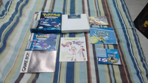Pokemon Shaphire Version Completo En Caja Game Boy Advance