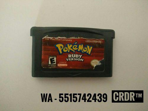 Pokémon Ruby Version Cartucho Game Boy Advance