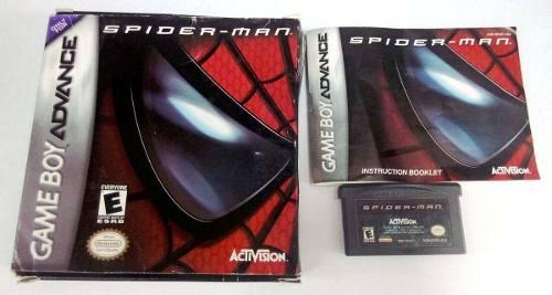 Spider-man Game Boy Advance Gba Completo Retromex Tcvg