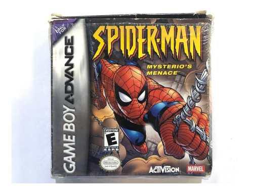 Spider-man Menace Game Boy Advance Gba Retromex Tcvg