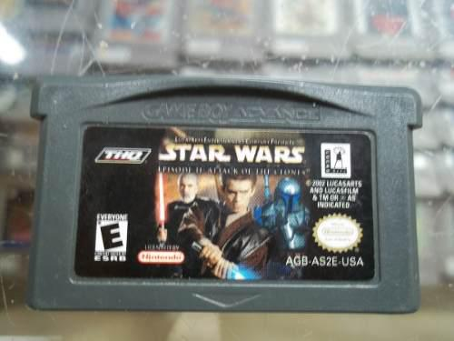 Star Wars Episode 2 Attack Of The Clones Game Boy Advance