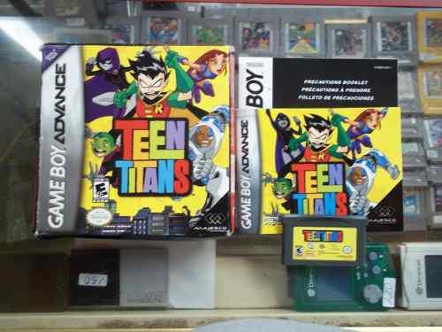 Teen Titans Game Boy Advance Nintendo Gba