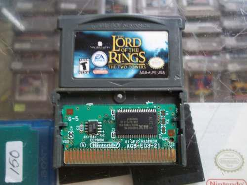 The Lord Of The Rings The Two Towers Game Boy Advance Gba
