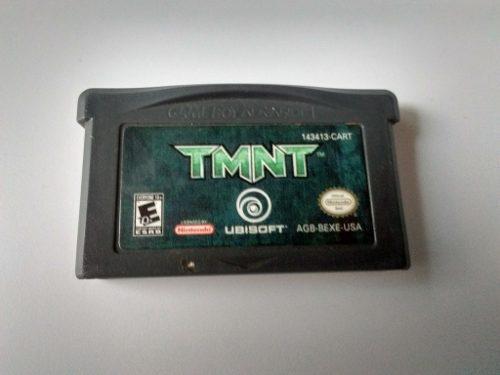Tmnt Tortugas Ninja Gba Mutant Turtles Game Boy Advance