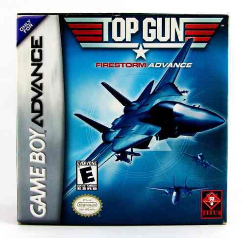 Top Gun Firestorm Advance Gba Completo Como Nuevo