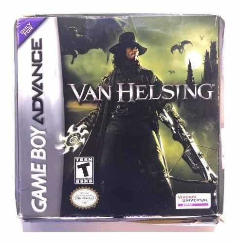 Van Helsing Game Boy Advance Gba En Caja Retromex Tcvg