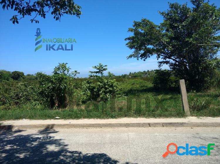 Venta terreno 681 m² Col. Revolución Tuxpan Veracruz,