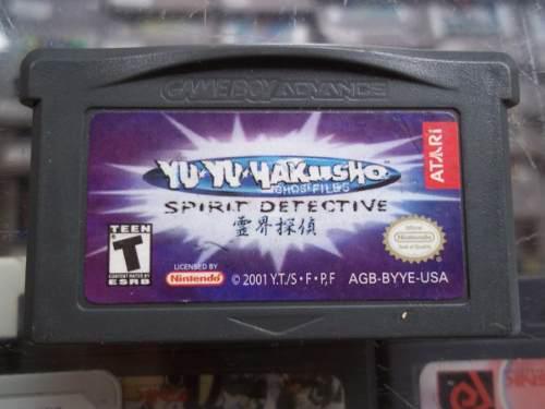 Yu Yu Hakusho Spirit Detective Game Boy Advance Nintendo Gba