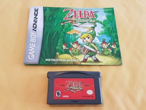 Zelda Minish Cap Gba Original Con Manual Original Como Nuevo