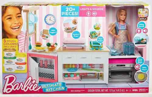 Barbie Cocina De Lujo 20 Piezas