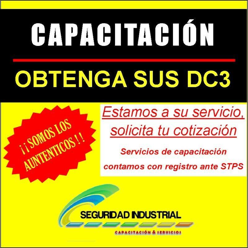 CD3 DC3 STPS DC5 CURSOS SEGURIDAD INDUSTRIAL