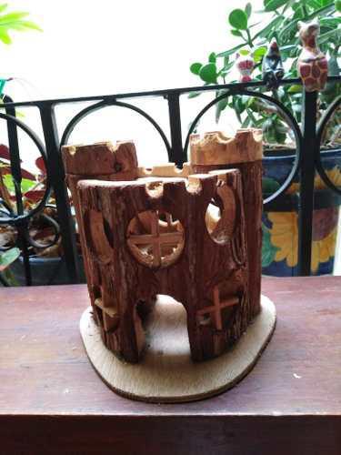 Castillo De Madera Para Hamster Chico