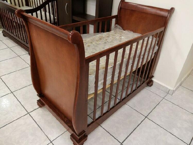 Classic Baby HERMOSA CUNA DE MADERA SÓLIDA mod. 27622
