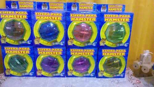 Esfera Para Hamster Jerbo O Roedores Pequeños.