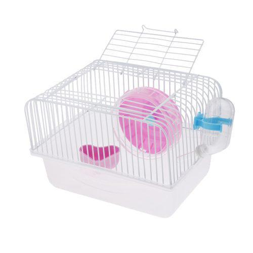 Hamster Jerbo Jaula Para Ratones Casa Parque Infantil