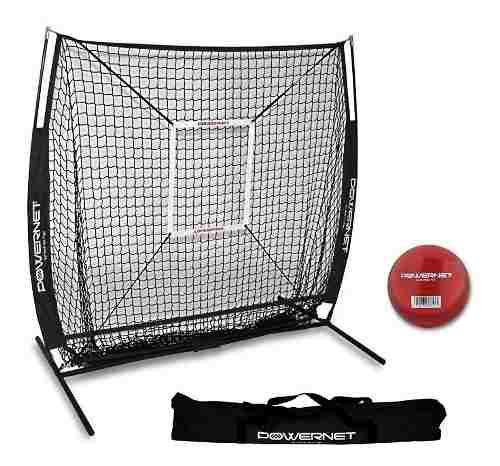 Powernet Red De Entrenamiento De Béisbol Softbol 5x5