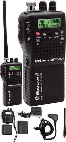 Radio Cb Midland Portatil Micromobile 40 Canales