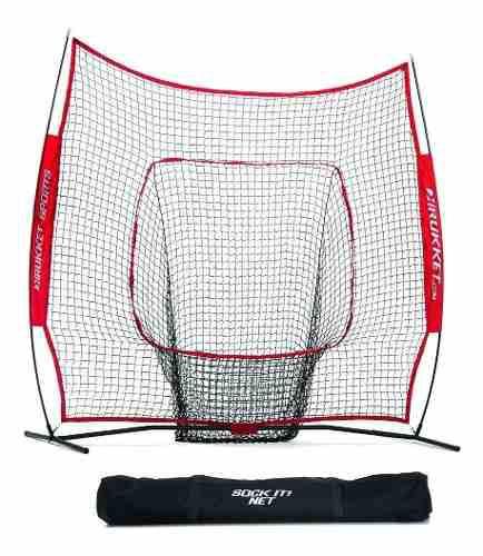 Rukket Sports 7x7 Red Entrenamiento Práctica Béisbol