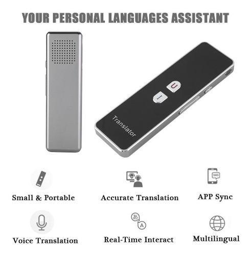 T6 Inteligente Traductor De Voz Portátil Dos - Camino Real
