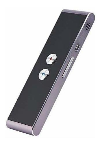 T8 Inteligente Idioma Traductor, Bluetooth Real Tiempo Multi