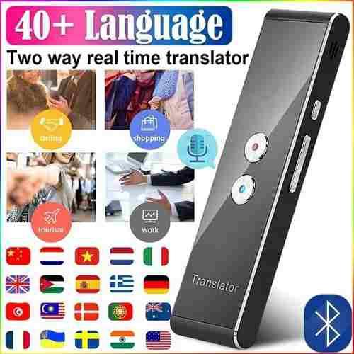 T8 Inteligente Traductor De Voz Portátil Dos - Camino Real
