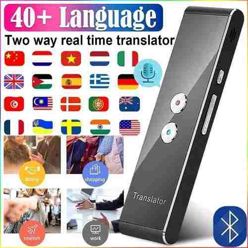 Traductor Inteligente Idioma T8, Dispositivo Traductor De Vo