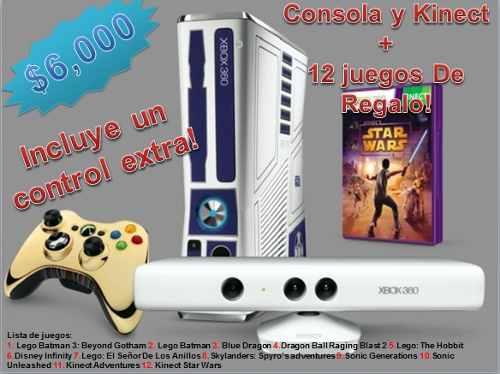 Xbox 360 Edición Especial: Star Wars. Al Mejor Precio 320