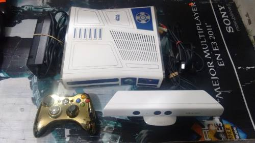 Xbox 360 Edicion Star Wars Con Kinect,control,sin Disco Duro
