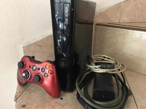 Xbox 360 S Control Con Kit Carga Y Juega, Juegos Y Regalo