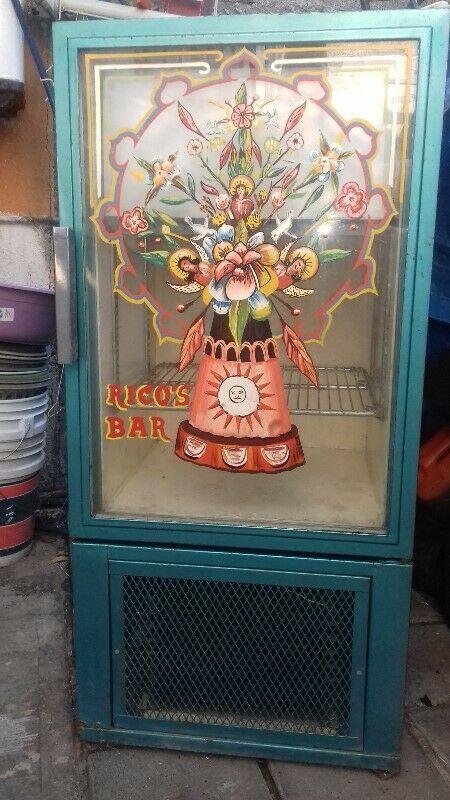 regrigerador industrial con congelador 9 pies