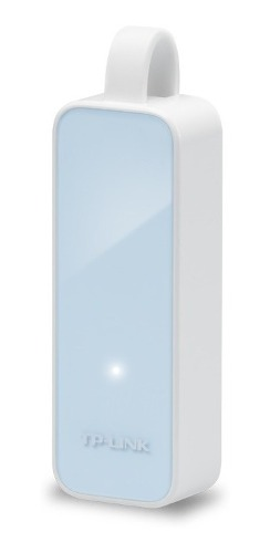 Adaptador De Red Tp Link Ue200 Usb 100 Mbps Color Blanco