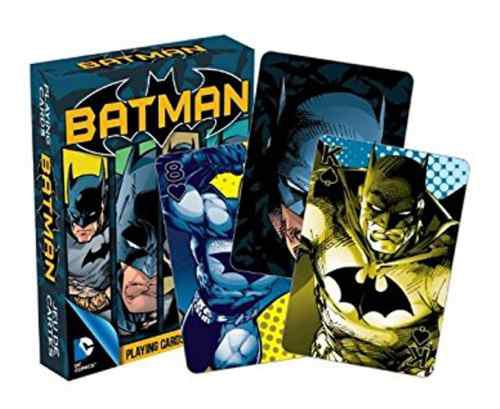 Cartas Batman Dc Comics Aquarius Baraja Naipes Poker